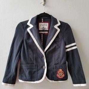 PINK Victoria's Secret Navy Prep Blazer with Crest